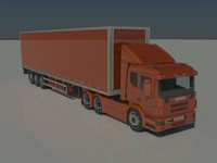 Scania-Saab P-340 And Trailers