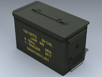 army ammunition 3d model