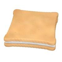3d model biscuit filled