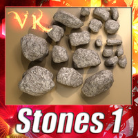 3ds max stones 01 resolution