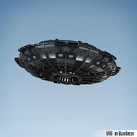 3d model ufo u f