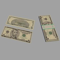 $5 Bills