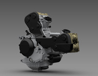 Ducati Engine 3D CAD