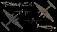 rare planes lockheed hudson 3d 3ds