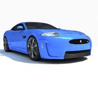3d model 2012 xkr-s