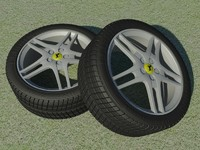 3ds 430 alloy wheel