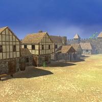 maya medieval town