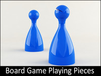 Board Game Playing Pieces