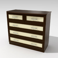 chest drawers 3ds