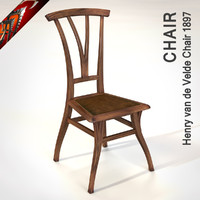 Henry van de Velde Chair 1897