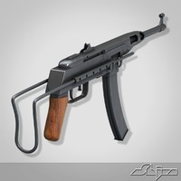 K-50M Submachine Gun