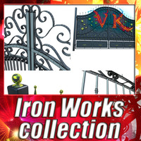 6 Ironworks Collection - High Detailed.