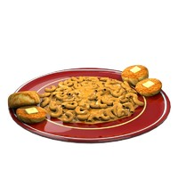 mac cheese 3d model