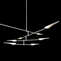 3d sarus chandelier model