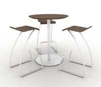 High table and stools