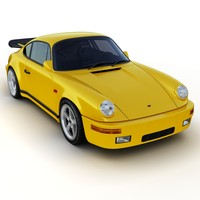 3d model of ruf ctr yellow bird