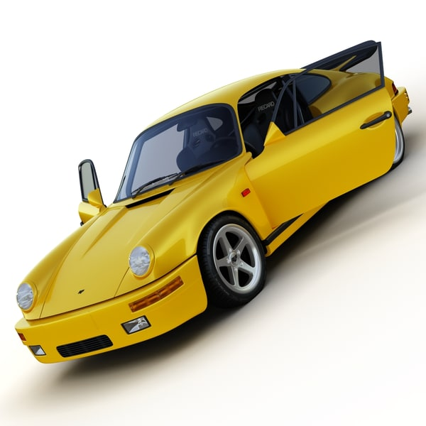 3d model of ruf ctr yellow bird - RUF CTR Yellowbird... by Next Image
