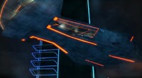 Tron Legacy Command Ship