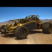 3d 3ds desert
