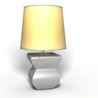 realistic lamp c4d