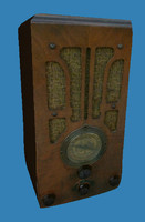 Rectangular Antique Radio