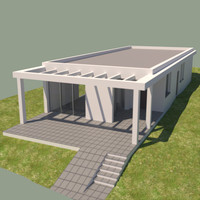 house contemporary 3d model