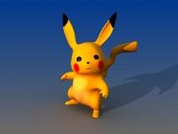 3dsmax pikachu pokemon