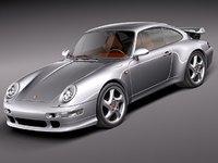 porsche 911 993 sport 3d model