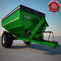 Farm Grain Cart Parker 938