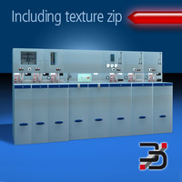 3d model industry electric