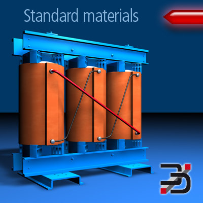 industry electric 3d model - Resin moulded transformer... by 3Djoachim