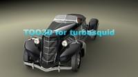 3d model auburn speedster