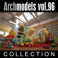 3d model archmodels vol 96