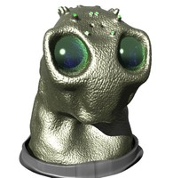 3ds max alien head