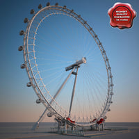 london eye 3d xsi