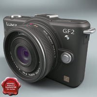 3d panasonic lumix dmc-gf2 model