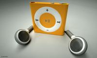 blend apple ipod shuffle earphones