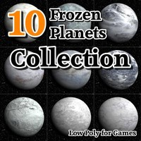10 frozen planets 3d 3ds
