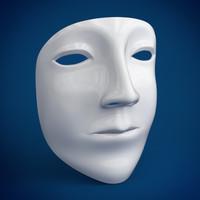 maya mask head