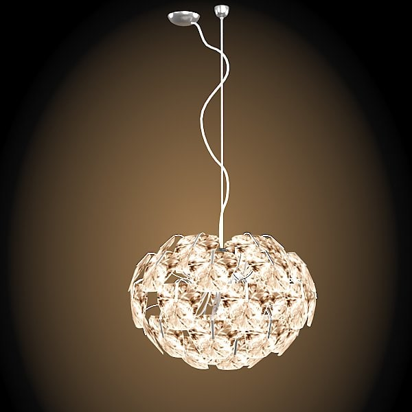 Luceplan hope suspension Modern contemporary polycarbonate  chandelier ceiling light lamp pendant.jpg