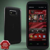Nokia 5530 Red