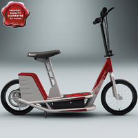 razor electric scooter e500s 3d 3ds