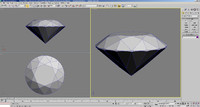 tolkowsky diamond brilliant cut 3d model