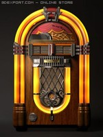 wurlitzer jukebox c4d