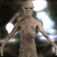 3ds max highpoly alien