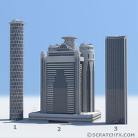 maya skyscrapers 1 2 3