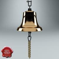 3d model of ship bell