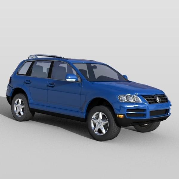 VW Touareg 3D