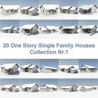 20 One Story Houses Nr1