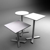 3dsmax table set